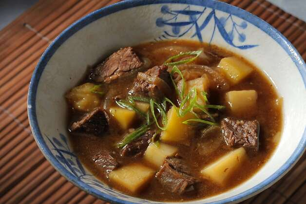 Nikujaga (Japanese Pot Roast); styling by Lynne Char Bennett Photo: Craig Lee, Special To The Chronicle