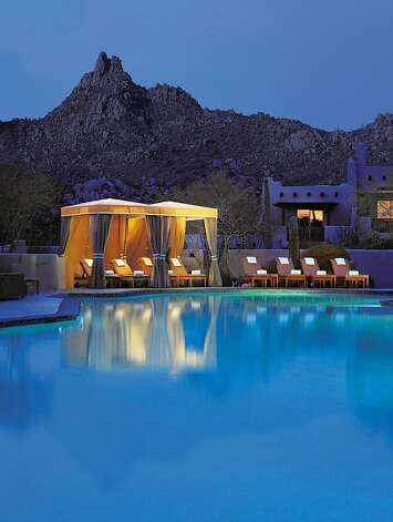 The Four Seasons Resort in Scottsdale offers a pool and 50 percent off standard rooms in summer. Photo: Barbara Kraft