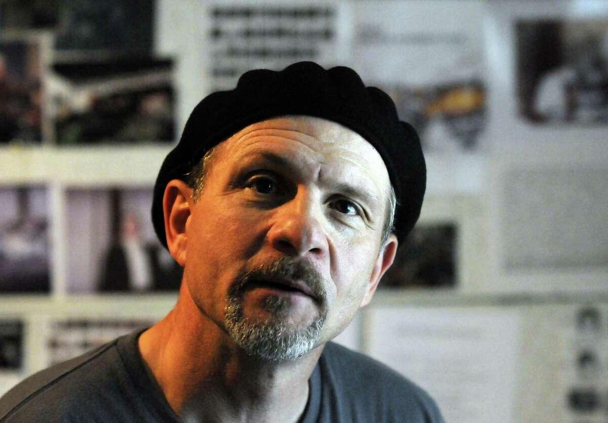 Jazz drummer David Calarco in Castleton N.Y.Wednesday June 20, 2012. (Michael P. Farrell/Times Union)
