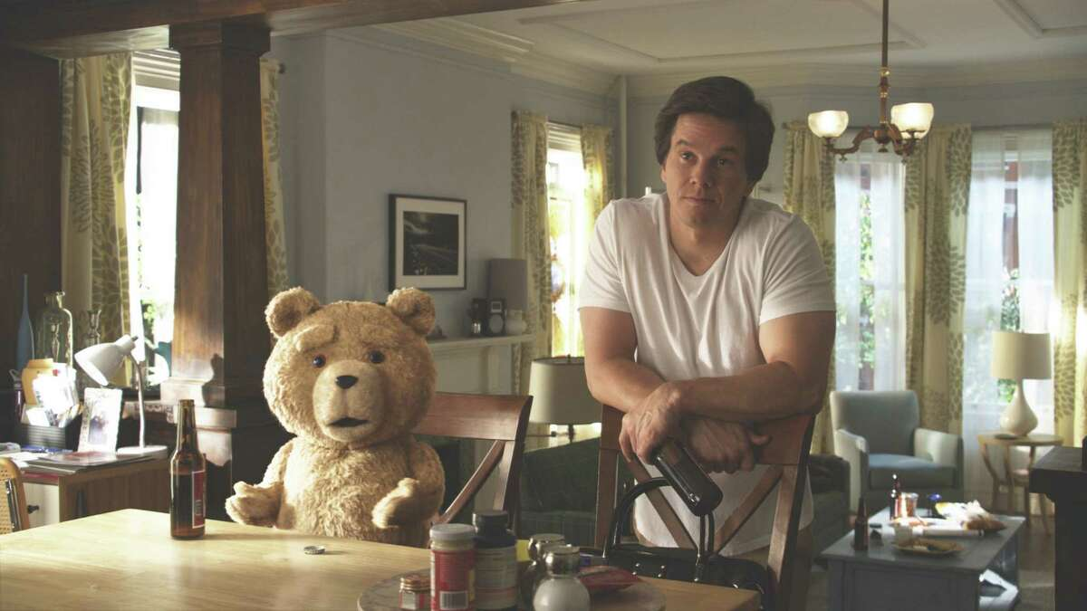 Universal Pictures John (MARK WAHLBERG) hangs out with his best friend, Ted (voiced by SETH MACFARLANE), in the live action/CG-animated comedy