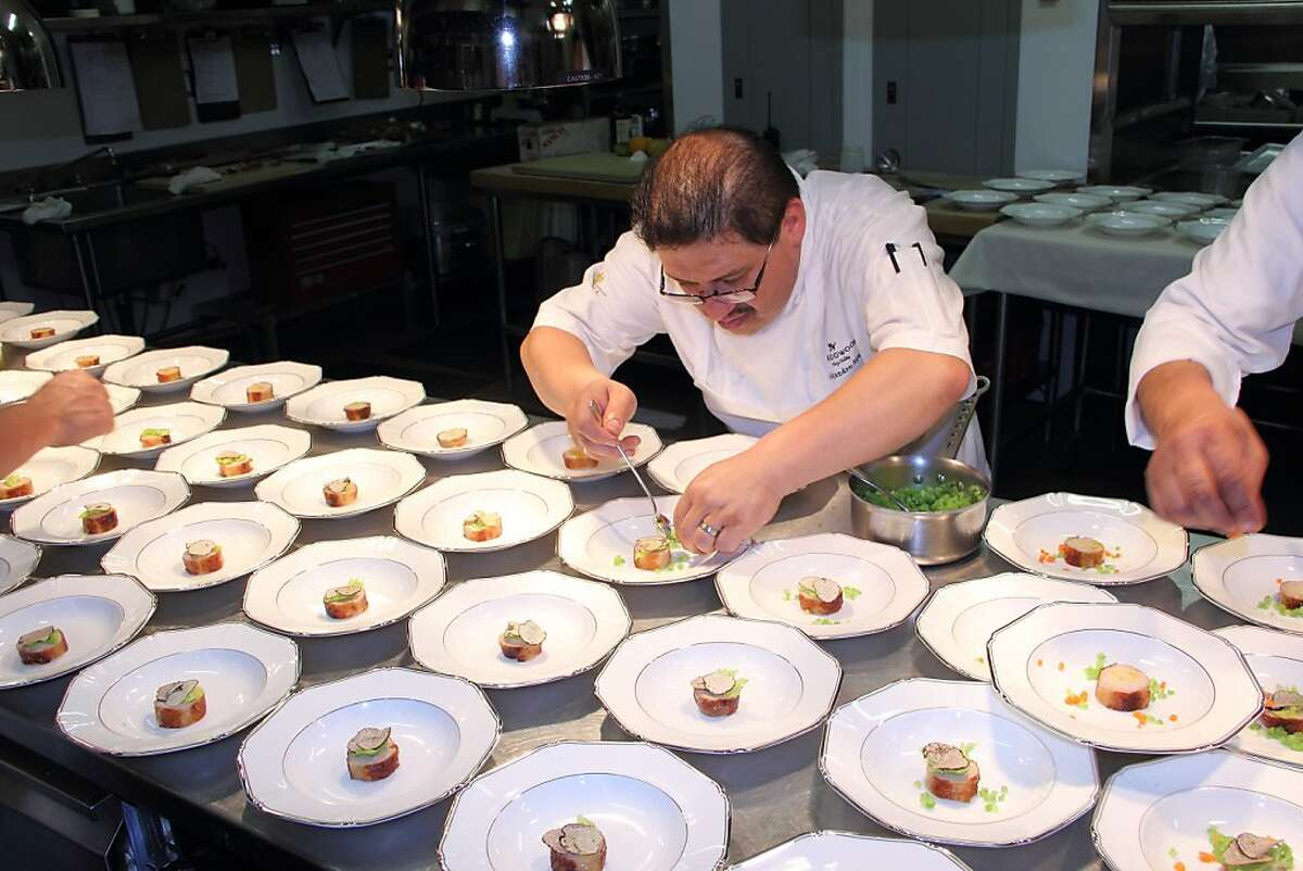 Banquet Chef Alejandro has catered over 700 weddings since getting his start twenty-five years ago.