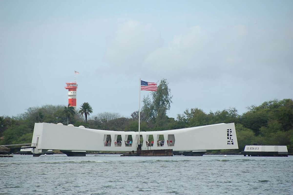 The USS Arizona Memorial in Pearl Harbor is part of federal holdings, including active military installations, in Hawaii.
