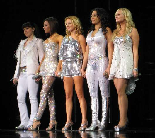 Spice Girls performing the final concert of their reunion tour in Toronto on Feb. 26, 2008. Photo: Various Sources