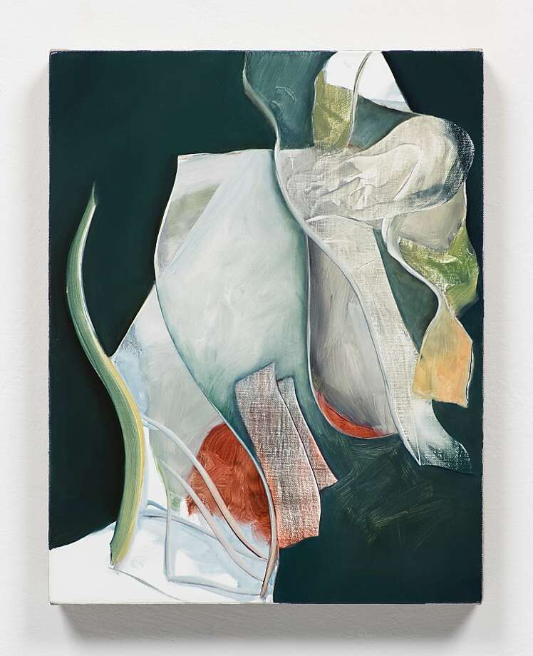 """Untitled"" (2012) oil on linen By Lesley Vance    14"" x 11"" Photo: Fredrick Nilsen"