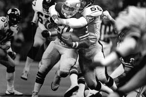 Nov. 4, 1979 --  Another depressing game: The Seahawks lost to the Los Angeles Rams 24-0 at the Kingdome, finishing the game with a horrendous negative 7 yards of total offense. Seattle made just one first down in the game.