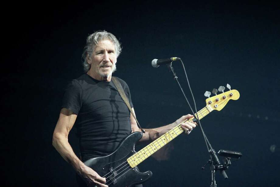 Roger Waters, a founding member of the band Pink Floyd, performs ?The Wall? Live at the Times Union Center in Albany, N.Y. on Thursday, June 28, 2012. (Dan Little / Special to the Times Union) Photo: Dan Little / 00018264A