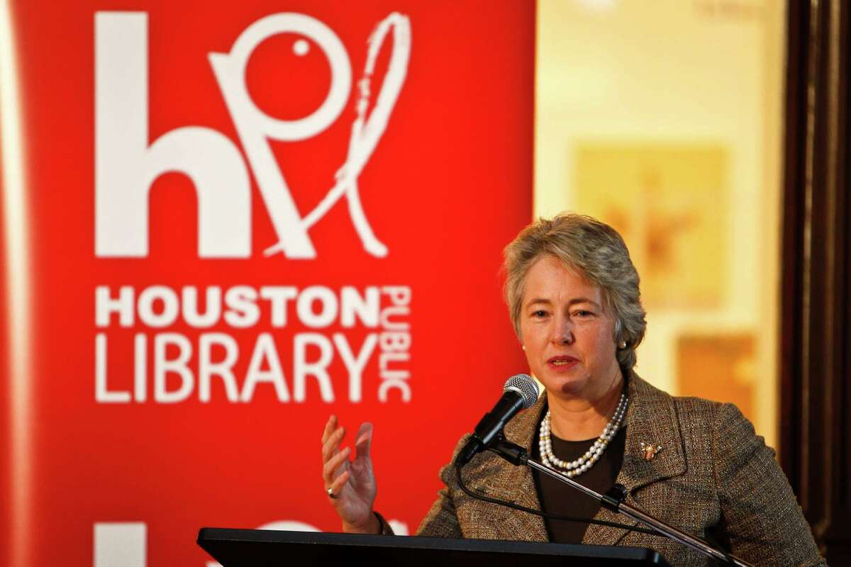 Mayor Annise Parker says reading C.S. Forester's