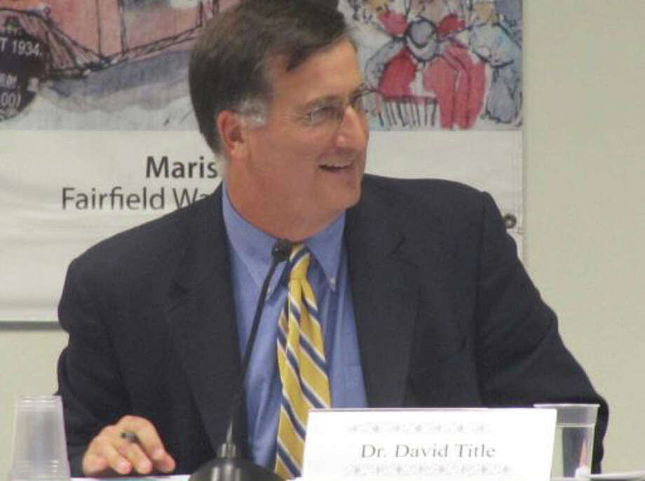 Superintendent of Schools David Title told the Board of Education this week that about $345,000 in unspent money is expected to be returned to the town from the 2011-12 education budget. Photo: File Photo / Fairfield Citizen