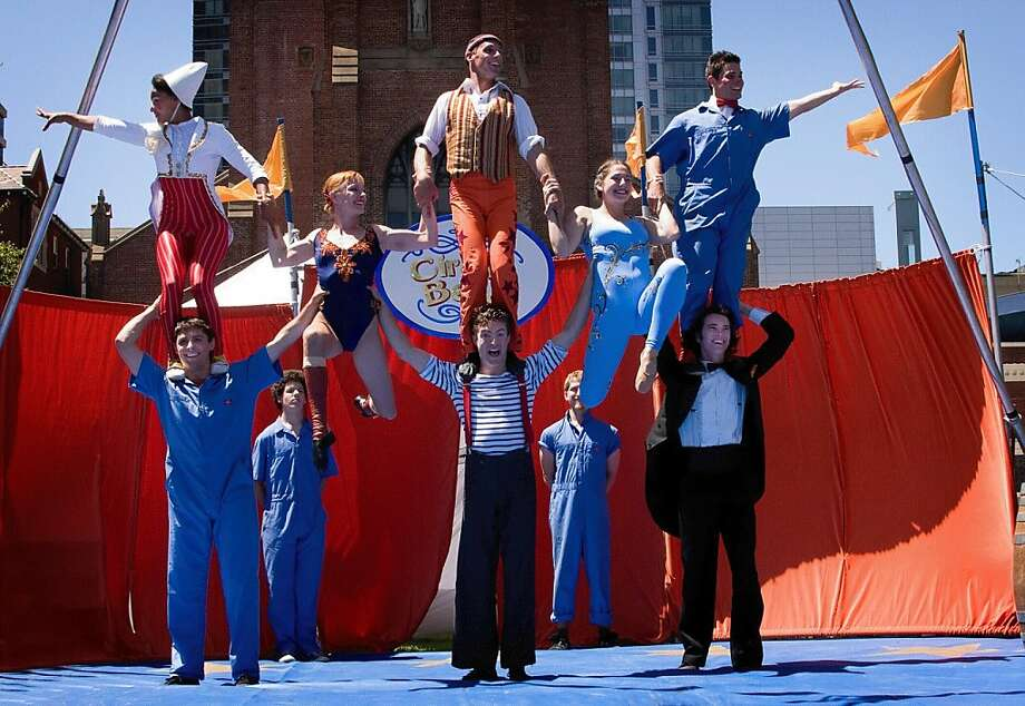 Circus Bella appears Sunday as part of the Picklewater Circus Festival Photo: Jason Mongue