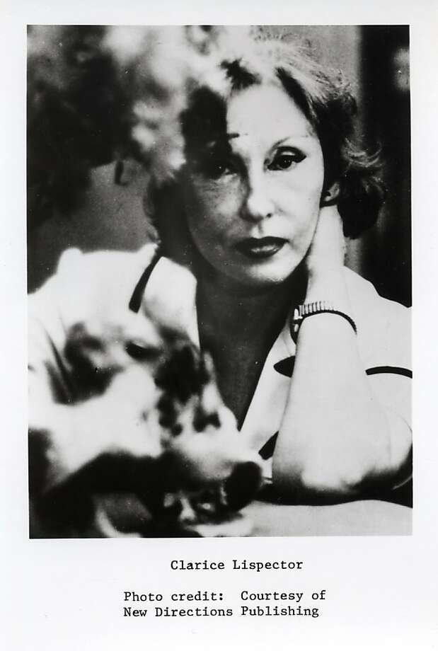 "Clarice Lispector is the author of the new book ""A Breath of Life."" Photo: New Directions Publishing"