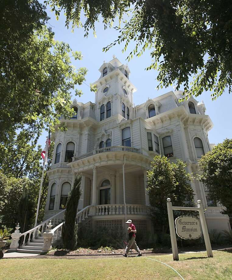 The Governor's Mansion State Historic Park, in Sacramento, Calif. Photo: Rich Pedroncelli, Associated Press