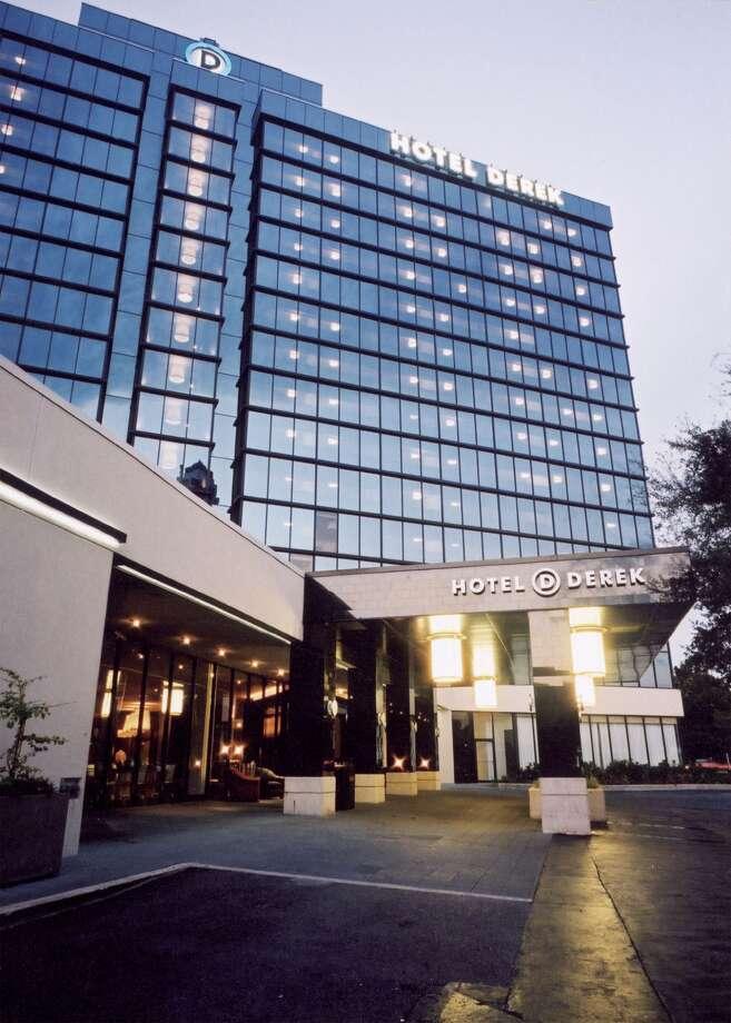 Spend the night at Hotel Derek. Cost: $285 - $1,170
