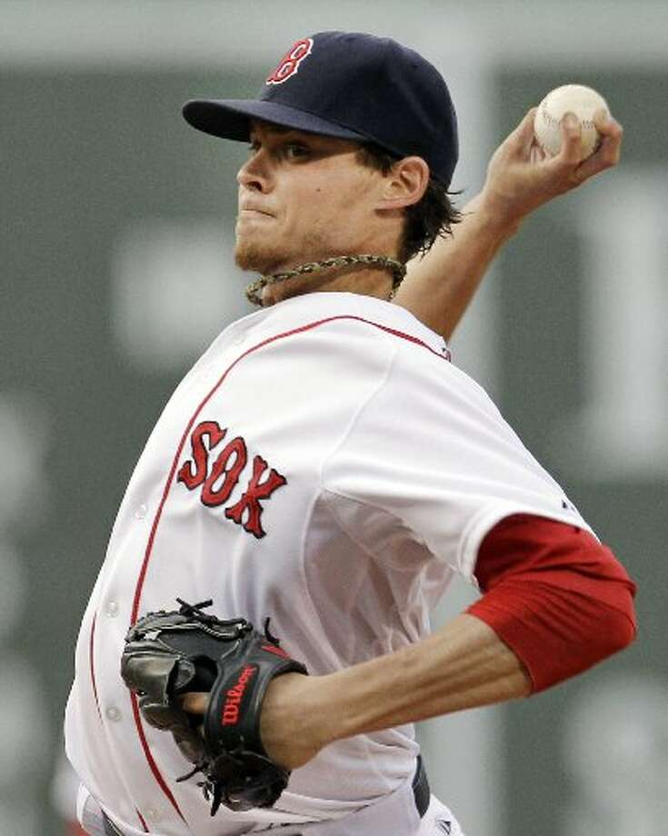Clay Buchholz. Marlins Red Sox Baseball. AP Photo. Photo: The Enterprise