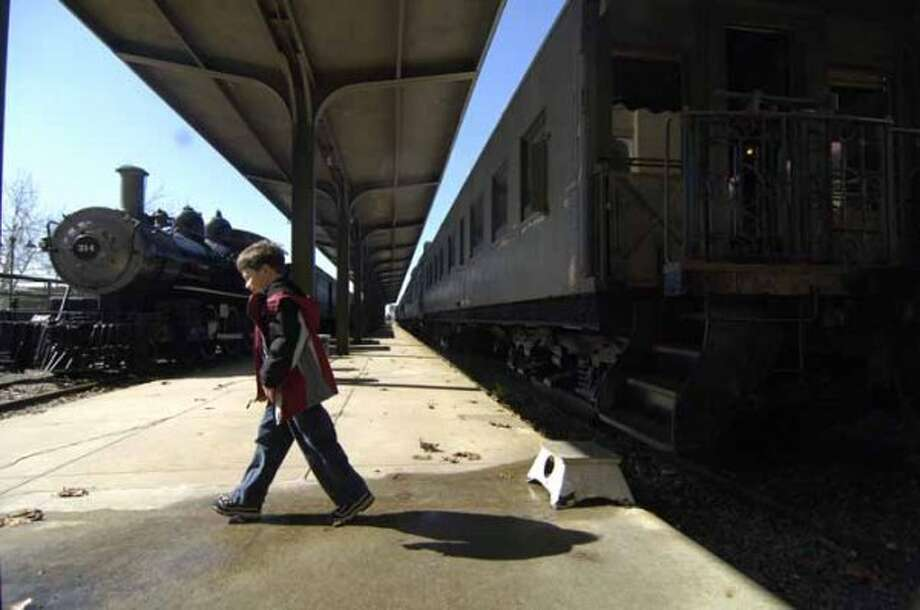 $6 ($4 for ages 4-12):A visit to the Galveston Rail Road Museum.   (Carlos Javier Sanchez / For the Chronicle)