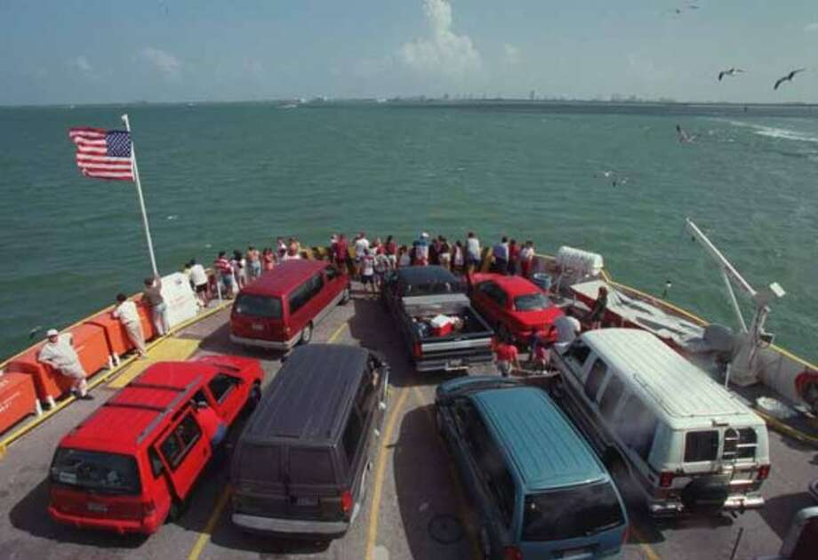 Free:A ride on the Bolivar Ferry.    (Kevin Fujii / Houston Chronicle)