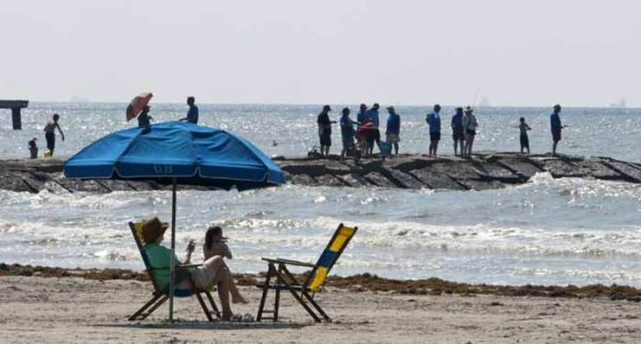 $30:Cost of renting two beach chairs and an umbrella for the day.  (James Nielsen / Chronicle)