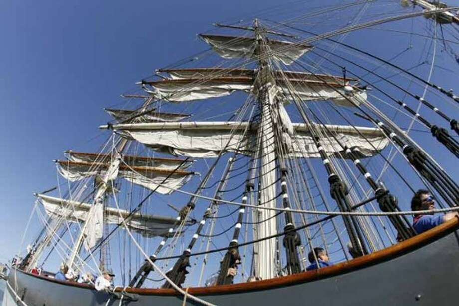 $8:Admission to the 1877 Tall Ship Elissa and the Texas Seaport Museum at Pier 21.  (James Nielsen / Houston Chronicle)