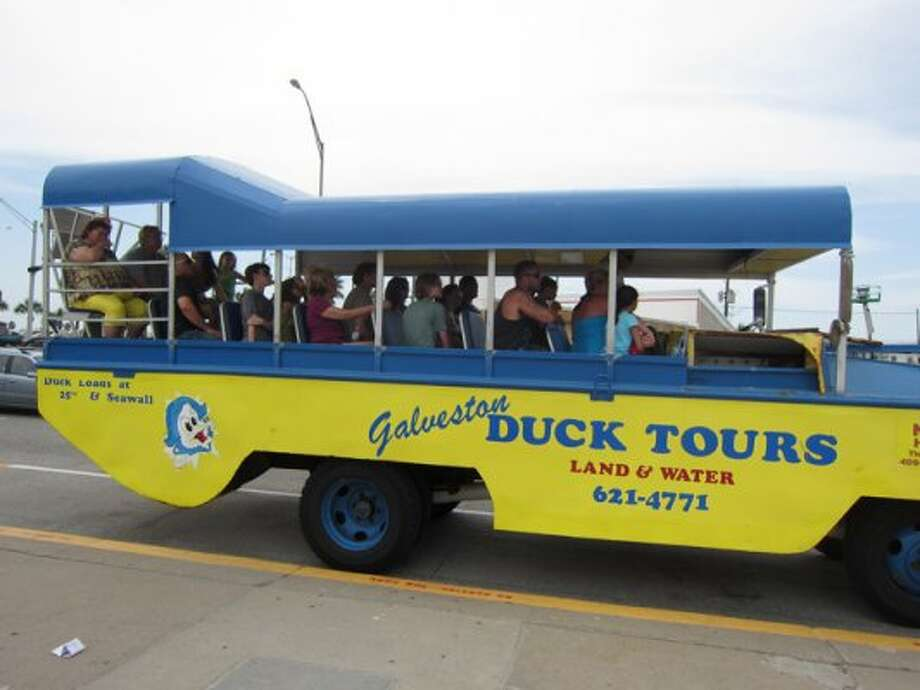 $15: For the Duck Tour, which goes on both land and in the water. (Syd Kearney / Houston Chronicle)