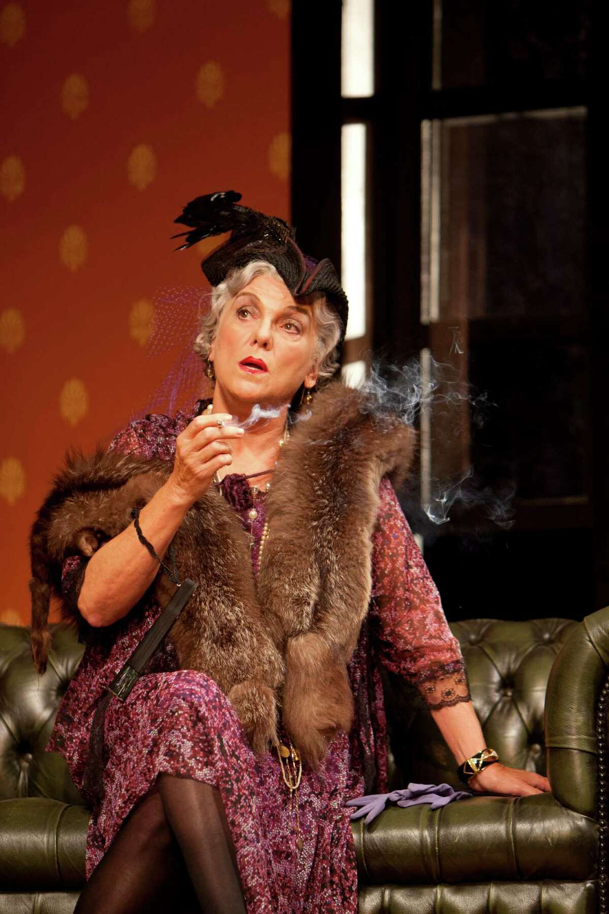 Tyne Daly in a scene from The Importance of Being Earnest. Photo by T. Charles Erickson at Williamstown Theatre Festival 6/26/12
