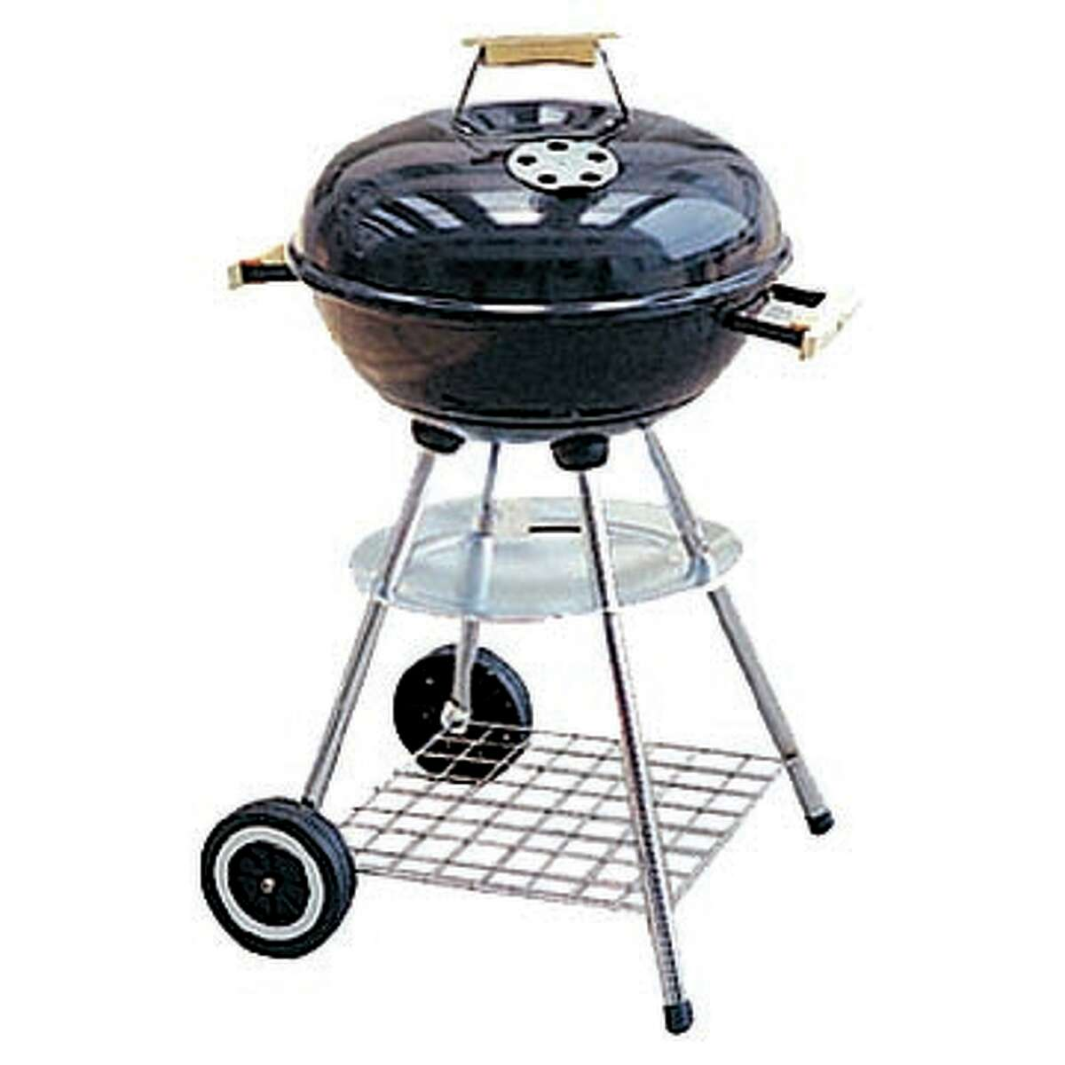 Make sure to keep an eye on the grill when it's heating. (Fotolia.com)
