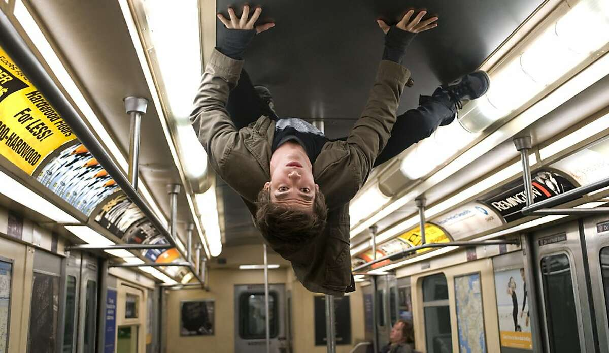 Andrew Garfield stars as Peter Parker in the new Spider-Man film.