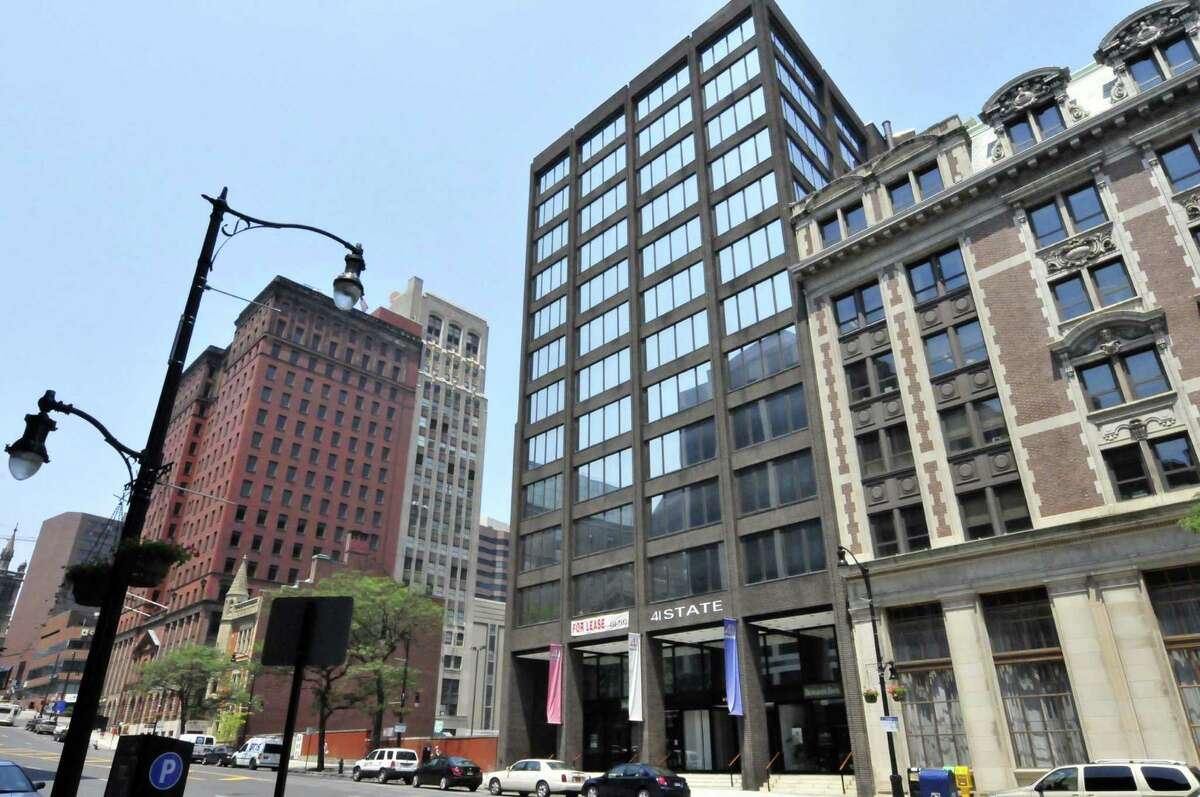 41 State Street, center, in Albany N.Y. Friday June 29, 2012. (Michael P. Farrell/Times Union)