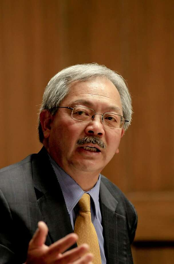 Ed Lee's campaign returned donations to employees of Archway Property Services. Photo: Michael Macor, The Chronicle