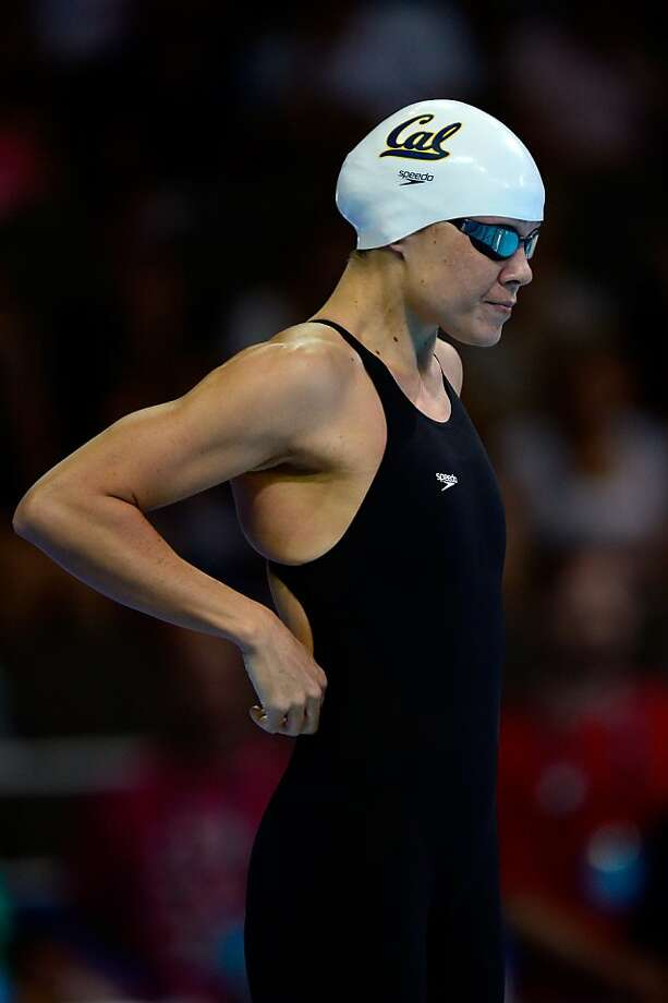 Natalie Coughlin had the seventh-best time in the semifinals of the 100 free. Photo: Jamie Squire, Getty Images