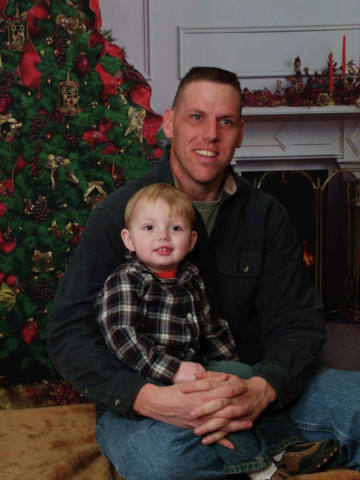 Family photo of Jason Rivenburg with his son Joshua. (Courtesy Rivenburg family/ Times Union archive)