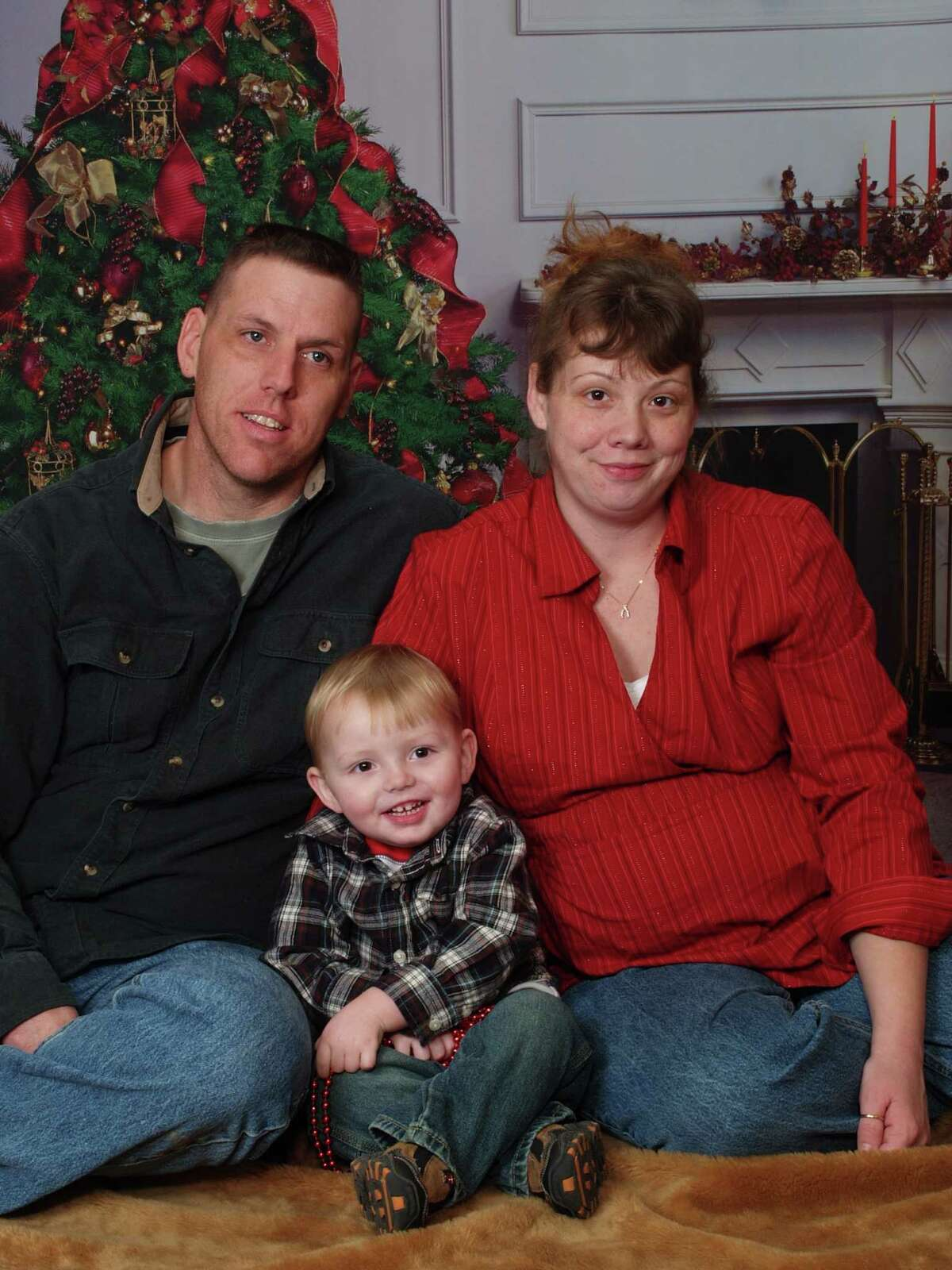 Family photo of Jason and Hope Rivenburg and their son Joshua. (Courtesy Rivenburg Family/ Times Union archive)