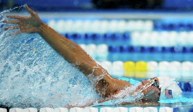 Matt Grevers swims in the men's 200-meter backstroke preliminaries at the U.S. Olympic swimming trials, Friday, June 29, 2012, in Omaha, Neb. (AP Photo/Mark J. Terrill) Photo: Associated Press