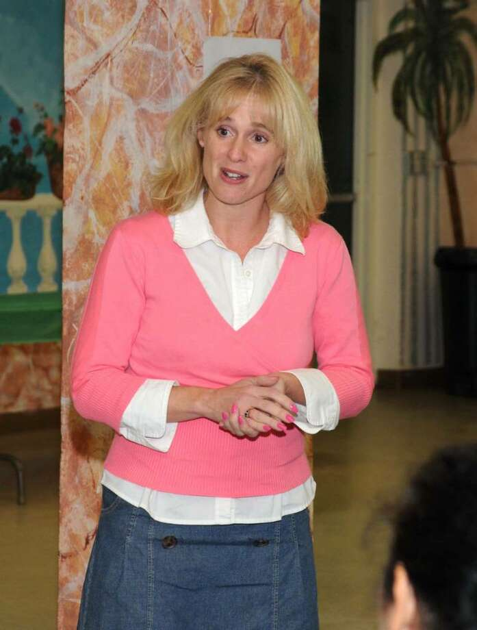 Barnum Square Toastmasters Club, a branch of Toastmasters International, in Bethel, CT. held their meeting at the Bethel Senior Center at the Municipal Building in Bethel, CT. on Tuesday Nov. 24, 2009. Their meeting was geared toward be thankful and Haather O'Neill thanked the members for bringing in items to create holiday baskets to donate to The Scotty Fund.  For more information on The Scotty Fund visit their website at www.scottyfund.org. Photo: Lisa Weir / The News-Times