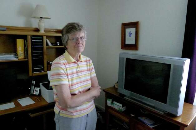 Sr. Shirley Maloney at her home in Latham, N.Y.Tuesday June 19, 2012. (Michael P. Farrell/Times Union) Photo: Michael P. Farrell / 00018157A