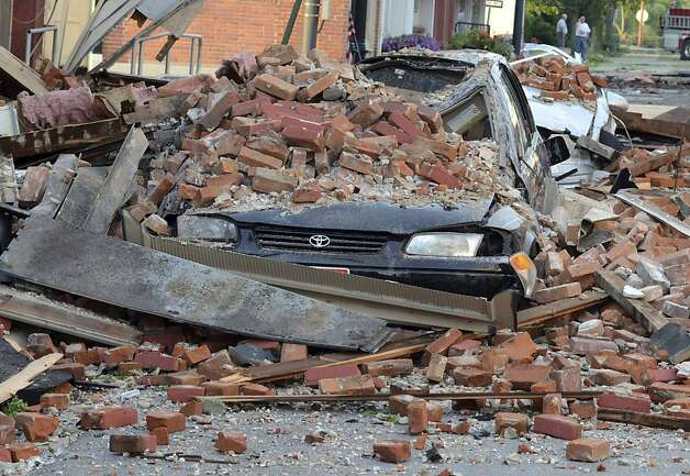 The strength of brick walls are deceptive - storms can easily lead to their collapse