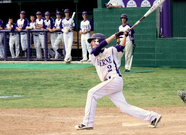 Boerne third baseman Dalton D'Spain was named to the Texas High School Baseball Coaches Association's All-State Class 3A first team. Photo: Mike Reeder, For The Express-News
