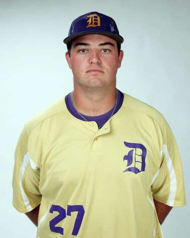 D'Hanis pitcher Kaleb Keith was named to the Texas High School Baseball Coaches Association's All-State Class A first team. Photo: Juanito M. Garza, San Antonio Express-News / San Antonio Express-News