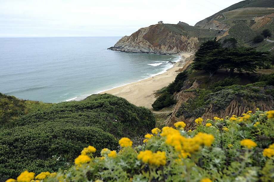 "Gray Whale Cove State Beach near Montara is among 280 parks that should be evaluated for ""statewide appeal,"" a report says. Photo: Michael Short, Special To The Chronicle"