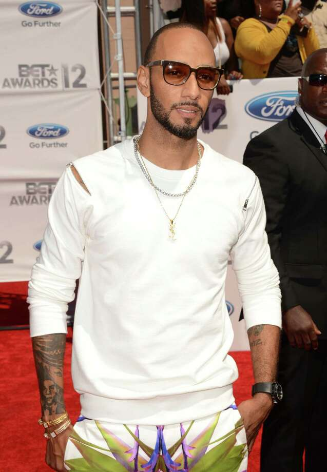 LOS ANGELES, CA - JULY 01:  Producer Swizz Beatz arrives at the 2012 BET Awards at The Shrine Auditorium on July 1, 2012 in Los Angeles, California. Photo: Jason Merritt, Getty Images For BET / 2012 Getty Images