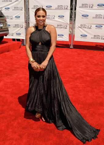 LOS ANGELES, CA - JULY 01:  Singer Tamia arrives at the 2012 BET Awards at The Shrine Auditorium on July 1, 2012 in Los Angeles, California. Photo: Jason Merritt, Getty Images For BET / 2012 Getty Images