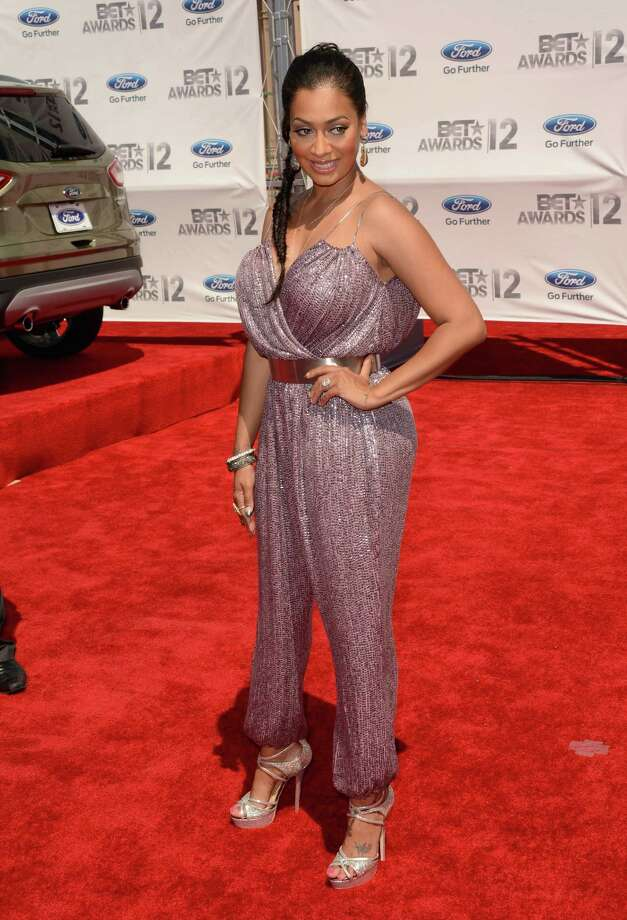 LOS ANGELES, CA - JULY 01:  TV Personality Lala Anthony arrives at the 2012 BET Awards at The Shrine Auditorium on July 1, 2012 in Los Angeles, California. Photo: Jason Merritt, Getty Images For BET / 2012 Getty Images