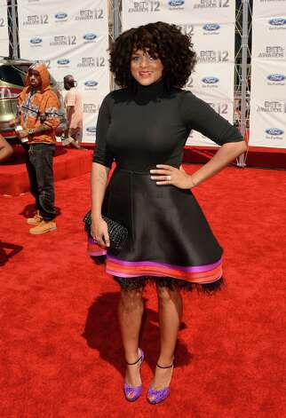 LOS ANGELES, CA - JULY 01:  Singer/songwriter Marsha Ambrosius arrives at the 2012 BET Awards at The Shrine Auditorium on July 1, 2012 in Los Angeles, California. Photo: Jason Merritt, Getty Images For BET / 2012 Getty Images