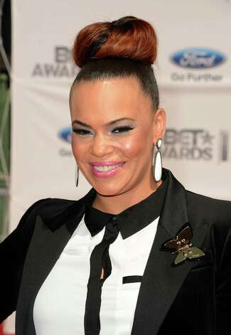 LOS ANGELES, CA - JULY 01:  Singer Faith Evans arrives at the 2012 BET Awards at The Shrine Auditorium on July 1, 2012 in Los Angeles, California. Photo: Jason Merritt, Getty Images For BET / 2012 Getty Images