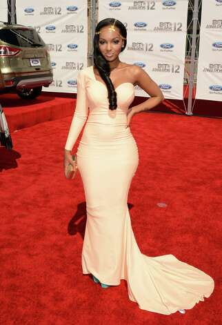 LOS ANGELES, CA - JULY 01:  Rapper LoLa Monroe arrives at the 2012 BET Awards at The Shrine Auditorium on July 1, 2012 in Los Angeles, California. Photo: Jason Merritt, Getty Images For BET / 2012 Getty Images