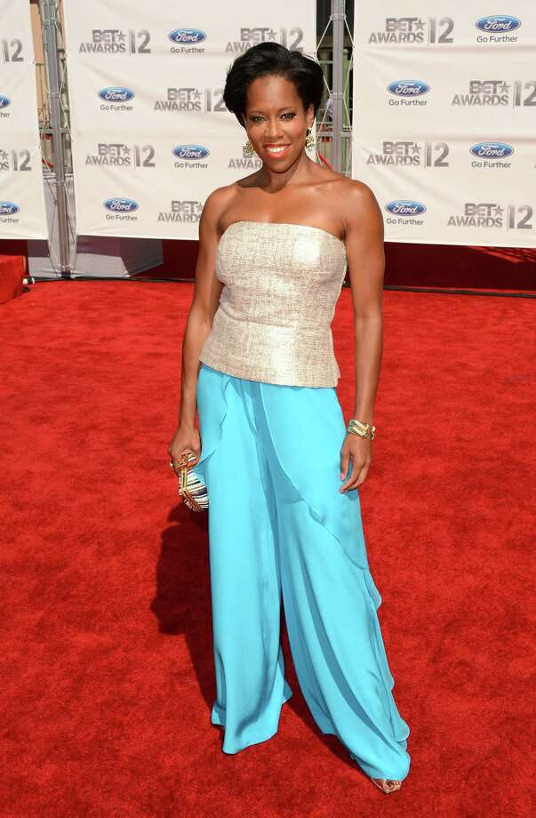 LOS ANGELES, CA - JULY 01:  Actress Regina King arrives at the 2012 BET Awards at The Shrine Auditorium on July 1, 2012 in Los Angeles, California. Photo: Jason Merritt, Getty Images For BET / 2012 Getty Images