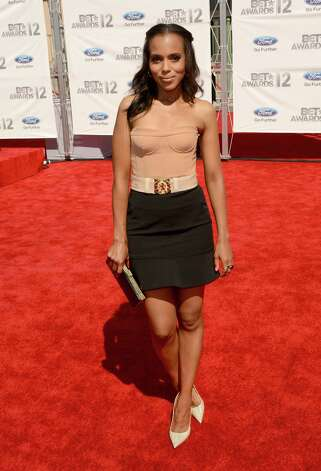 LOS ANGELES, CA - JULY 01:  Actress Kerry Washington arrives at the 2012 BET Awards at The Shrine Auditorium on July 1, 2012 in Los Angeles, California. Photo: Jason Merritt, Getty Images For BET / 2012 Getty Images
