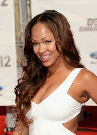 LOS ANGELES, CA - JULY 01:  Actress Meagan Good arrives at the 2012 BET Awards at The Shrine Auditorium on July 1, 2012 in Los Angeles, California. Photo: Jason Merritt, Getty Images For BET / 2012 Getty Images