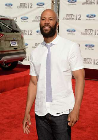 LOS ANGELES, CA - JULY 01:  Hip-hop artist Common arrives at the 2012 BET Awards at The Shrine Auditorium on July 1, 2012 in Los Angeles, California. Photo: Jason Merritt, Getty Images For BET / 2012 Getty Images