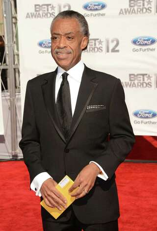 LOS ANGELES, CA - JULY 01:  Reverend Al Sharpton arrives at the 2012 BET Awards at The Shrine Auditorium on July 1, 2012 in Los Angeles, California. Photo: Jason Merritt, Getty Images For BET / 2012 Getty Images