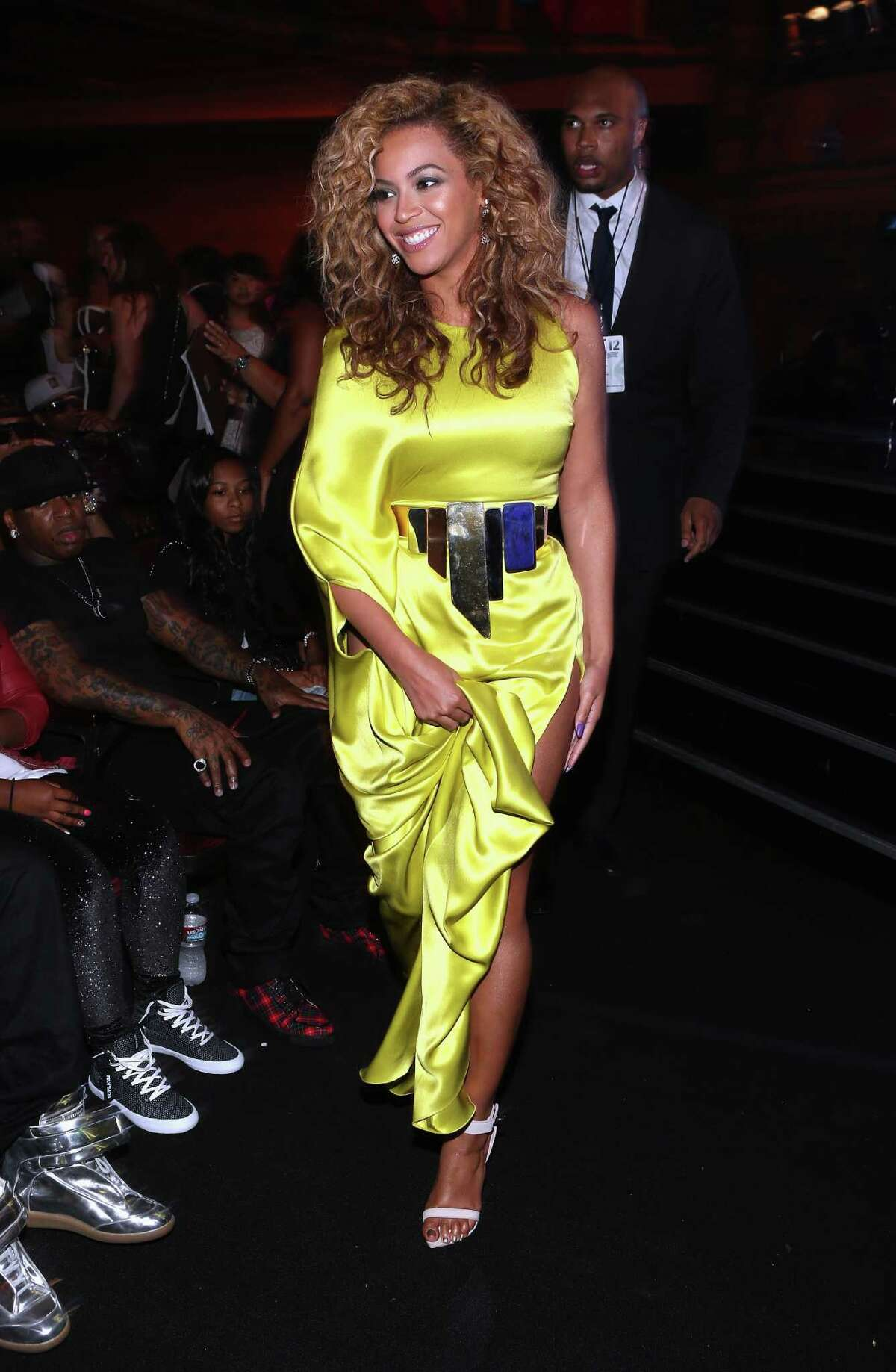LOS ANGELES, CA - JULY 01: Singer Beyonce attends the 2012 BET Awards at The Shrine Auditorium on July 1, 2012 in Los Angeles, California.