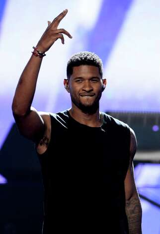 LOS ANGELES, CA - JULY 01:  Recording Artist Usher performs onstage during the 2012 BET Awards at The Shrine Auditorium on July 1, 2012 in Los Angeles, California. Photo: Michael Buckner, Getty Images For BET / 2012 Getty Images